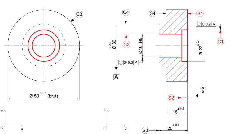 pr paration de production en productique m canique tude de fabrication et analyse d 39 usinage. Black Bedroom Furniture Sets. Home Design Ideas